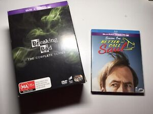 breaking bad complete series Plus Better call Saul Blu ray Dvd