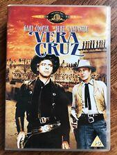 Gary Cooper Burt Lancaster VERA CRUZ ~ 1958 Tex Mex Western Classic UK DVD