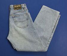 Unlimited w29 42 jeans vintage vita alta mom hot blu usati boyfriend T1675