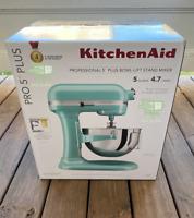 KitchenAid Professional 5 Plus Series 5QT Bowl-Lift Stand Mixer - Ice Blue - NEW