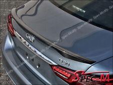Fits 14-19 Infiniti Q50 Rear Trunk Spoiler Japanese Style JDM Carbon Fiber CF