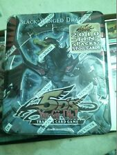 YuGiOh  Black-Wing Dragon Collector Tin with packs and promos SEALED English