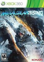 Metal Gear Rising (Xbox 360) NEW SEALED