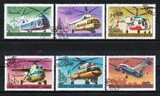 Avions Russie URSS (13) série complète de 6 timbres oblitérés
