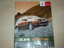 44390) Suzuki SX4 Preise & Extras Prospekt 04/2006