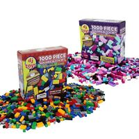 1,000 Piece Building Bricks Blocks Boys Girls Construction Play Toys Compatible