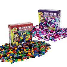 1,000 Piece Building Bricks Blocks Boys Girls Construction Play Toys Compatible