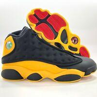 Nike Air Jordan 13 Retro Melo Class 2002 Black Red Yellow 414571-035 Mens 7.5-15