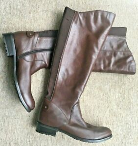 Jones  the  Boot Makers Brown Leather  Boots EU Size  42  Freeflex
