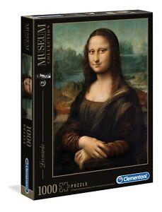 "Puzzle Clementoni 1000 pezzi Museum collection ""Mona Lisa"" Leonardo"