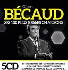 Gilbert Becaud - Ses 100 Plus Belles Chansons [CD New]