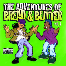 THE ADVENTURES  OF BREAD & BUTTER - BREAK BEATS GALORE VOL. 1  CD 1998 USA