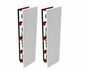 B&W CWM7.4 S2 In-Wall Speakers; CWM-7.4-S2; Pair (New)