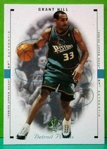 Grant Hill regular card 1998-99 Upper Deck SP Authentic #31
