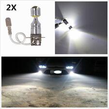 Pair 30W H3 6SMD 12V-24V 6000K LED Replacement Bulb For Car Fog Light DRL Lamps
