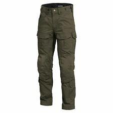PENTAGON Pantaloni uomo militare tattici da combattimento Wolf pants Green 46