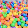 50/100/200/500X Secure Baby Kid Pit Toy Swim Fun Soft Plastic Ocean Ball 0cn