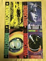 WATCHMEN - FOUR (4) Issue Lot -#1(reprint(, #2, #7, And #10 - Alan Moore - DC