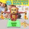 Monkey Match Math Balancing Scale Number Balance Game Board Educational Toys