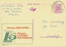 BELGIUM AISEAU 1 (now Aiseau-Presles) SC 1974 (Postal Stationery 3,50 + 0,50 F)