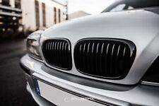 Nieren Set BMW E39 Limousine Kühlergrill Grill schwarz glänzend M5 Salberk 3901