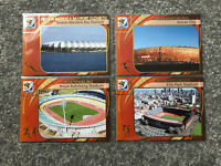 Panini 2010 South Africa World Cup Trading Card 4x Stadium Bundle Lot
