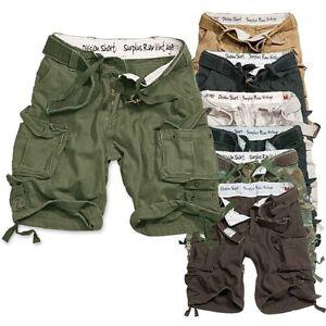 SURPLUS DIVISION RAW Vintage Shorts kurze US Army Bermuda Cargo Hose Short Biker
