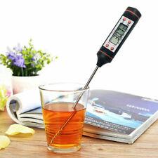 Instant Read Digital Thermometer Kitchen Tool BBQ Milk Meat Oil Liquid Oven