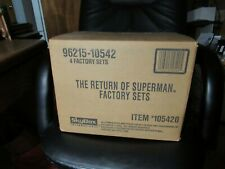 Lot of (4) SKYBOX THE RETURN OF SUPERMAN BINDER SET AND CHASE TRADING CARDS 1993