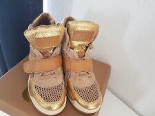 """""""ASM""""  Sneaker Damenschuhe Gr.39, Farbe Gold ,Leder"""