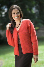 Plymouth Yarn Co 1574 Galway Worsted Cardigan Jacket Knitting Pattern