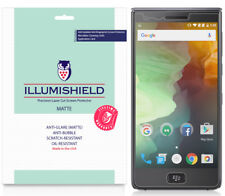 3x iLLumiShield Matte Screen Protector Anti-Glare for BlackBerry Motion