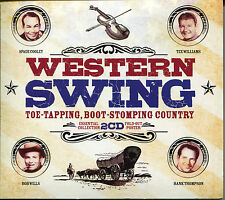 WESTERN SWING TOE-TAPPING, BOOT-STOMPING COUNTRY - 2 CD BOX SET