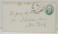 US Postage green Three Cents with Cancel on Cover 1879  (A2668
