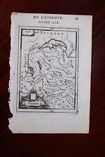 ✒ 1683 MANESSON MALLET carte de la SAVOIE SAVOYE