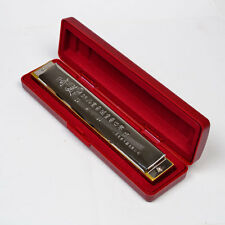 28 Hole C Tremolo Harmonica Chinese Mouth Organ With Plastic Case & Cloth