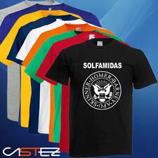 Camiseta los solfamidas parodia ramones (ENVIO 24/48h)VARIOS COLORES