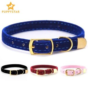 Cat Collar With Bell Safety Collars for Puppy Dog Pet Kittens Solid Pet Collar