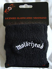 "Hats: Motorhead : ""Motorhead"" Logo Knitted Wristband Black : Bagged"