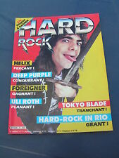 Hard Rock 1985 7 HELIX DEEP PURPLE FOREIGNER ULI ROTH TOKYO BLADE IRON MAIDEN