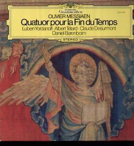 Messiaen - Quatuor pour la Fin du Temps, Barenboim, Yordanoff, Tetard - LP