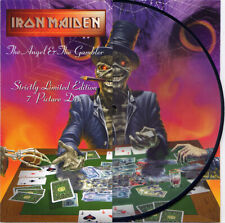 """IRON MAIDEN - THE ANGEL AND THE GAMBLER - LIMITED PICTURE VINYL 7"""""""