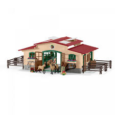 Schleich, Stable With Horses and Accessories (42195)