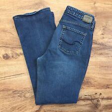 Levis Signature Sz 10L Low Rise Boot Cut Blue Jeans Stretch Denim Womens 10 Long