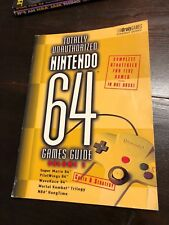 Totally Unauthorized Nintendo 64 Games Guide - Volume 1