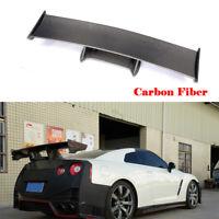 Rear Racing Spoiler Wing For Nissan NISMO GTR R35 GT-R 09-15 Refit Carbon Fiber