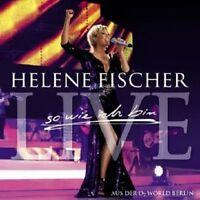 """HELENE FISCHER """"SO WIE ICH BIN (LIVE)"""" 2 CD NEU"""