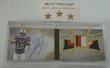 ROBERT WOODS ROOKIE AUTO PATCH BOOKLET 2013 TOPPS FIVE STAR #'d 6/15 $$ WOW!!