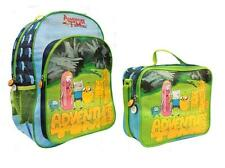 Adventure Time Finn Jake Princess Bubblegum Bmo Backpack Lunch Tote Bag Combo