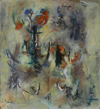Abstract Expressionist Painting - Attributed to Gerard Schneider (1896-1986)